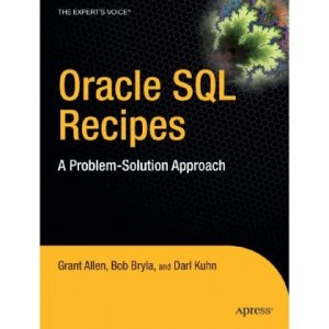 Oracle SQL Recipes Cover Art